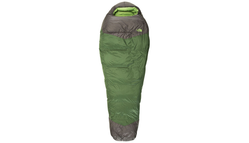 The North Face Green Kazoo Sovsäck regular grå/grön